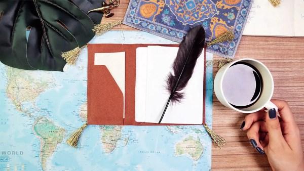 Magic Carpet Passport Cover