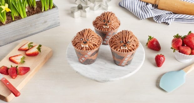 May The Force Be With You In The Kitchen With These Adorable Chewie Cake Cups!