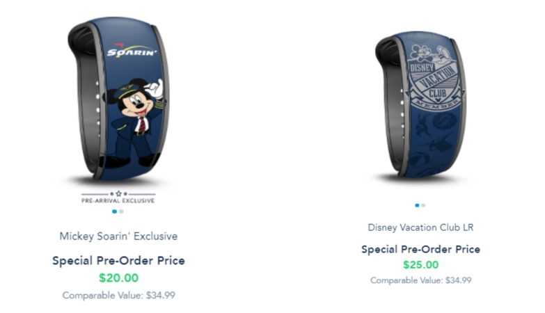 New Pre-Arrival MagicBands now available on Disney World Website 4