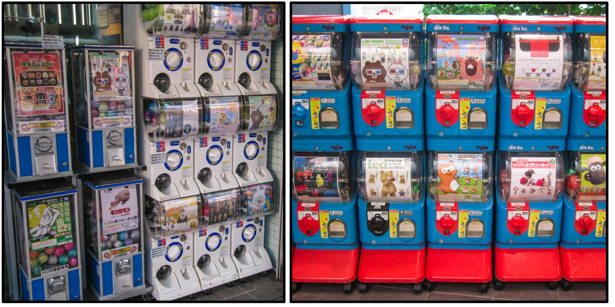Gashapon The Magic World Of Capsule Toys