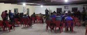 Acto de posesión de los Directores de las unidades educativas de Chipaya.
