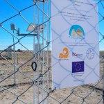 «Open hardware» en Bolivia: Delegación de la Unión Europea visita la estación meteorológica de Chipaya