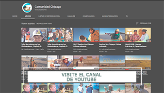 VISITE EL CANAL DE YOUTUBE