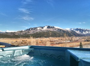 Colorado Resort Accommodations Hot Tub View