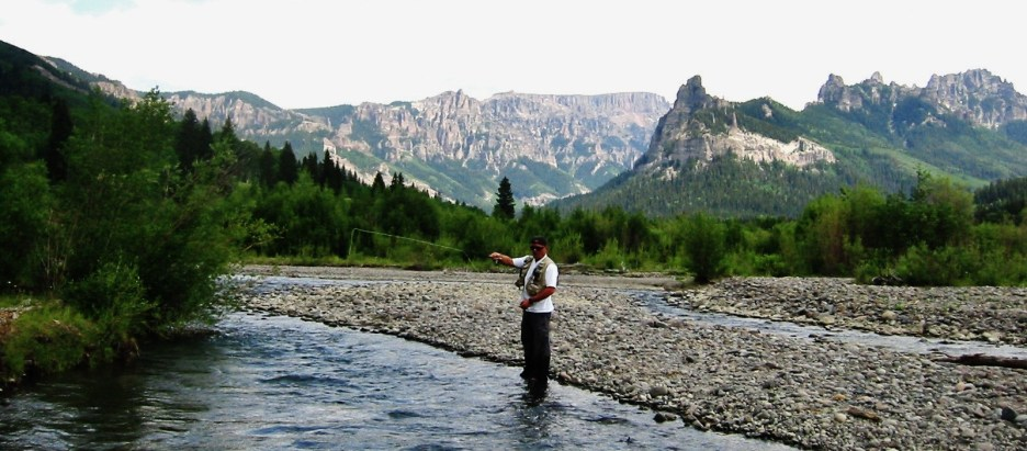 Colorado Resort High Country Cimarron River Fly Fishing