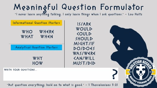 Meaningful Question Formulator