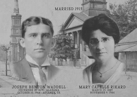 Joseph and Mary Waddell