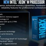 Intel Xeon W Processor Overview