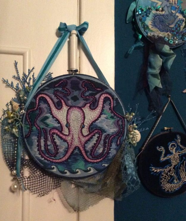 Octopus Mixed Media Suzanne Forbes May 2016