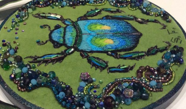 Suzanne Forbes beaded beetle August 2016
