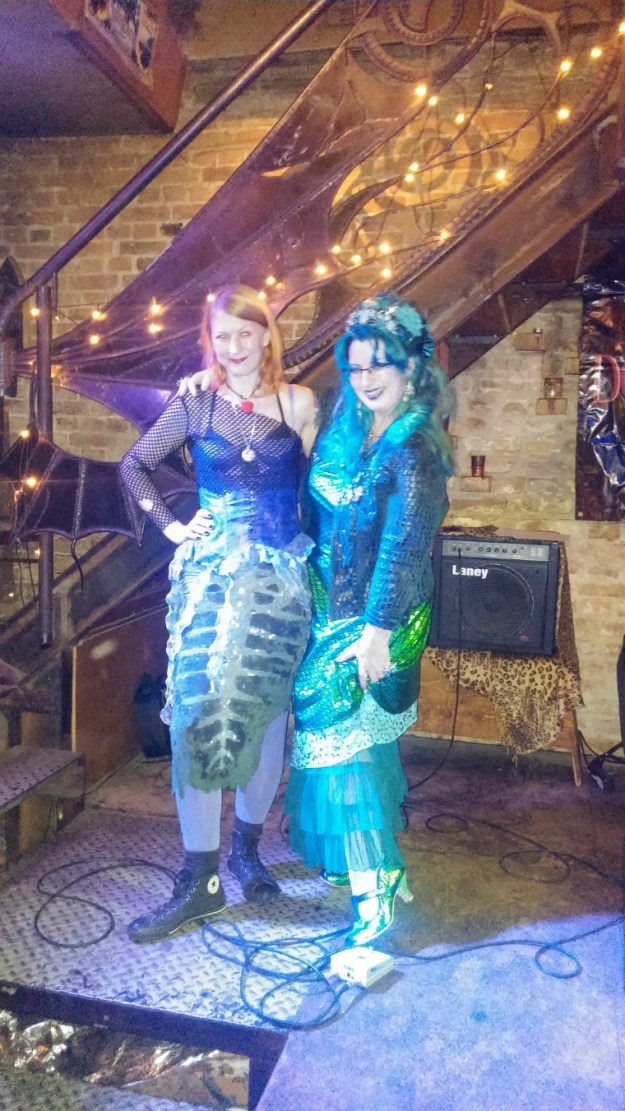 Natascha Artworx and Suzanne Forbes at Arcanoa Sept 28 2017