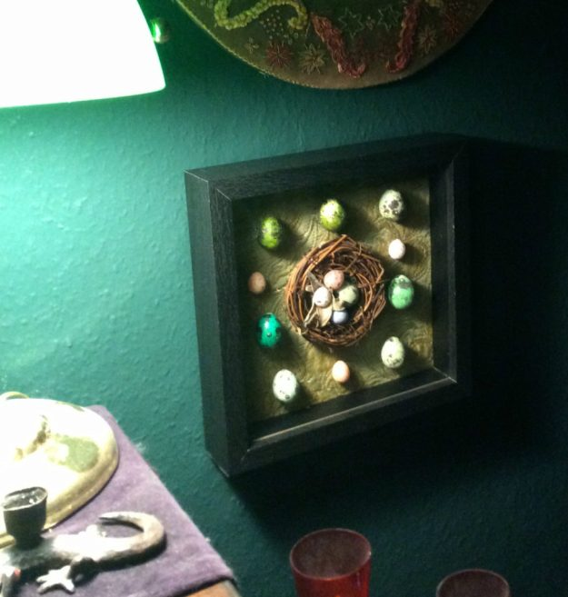 Egg shadowbox by Suzanne Forbes Oct 2017