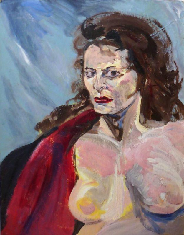 Portrait of Kathleen Rachel Ketchum Suzanne Rachel Forbes Fall 1989