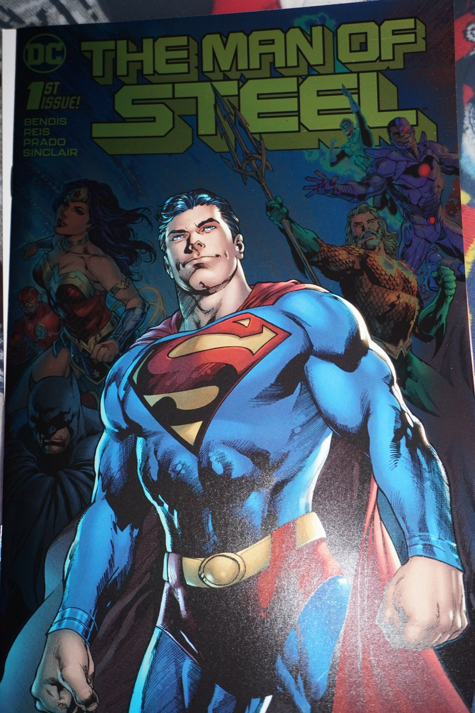 MAN OF STEEL GOLD FOIL COMIC - ISSUE 1