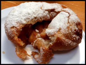 Beignet filled with Granny Smith apples @ Brenda's French Soul Food