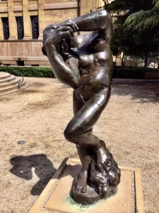 """Meditation With Arms"" Rodin"