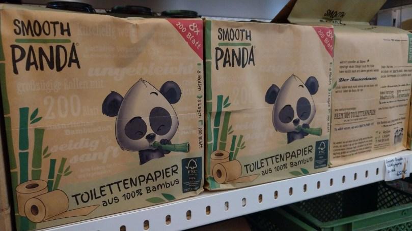 可愛的Smooth Panda外包裝