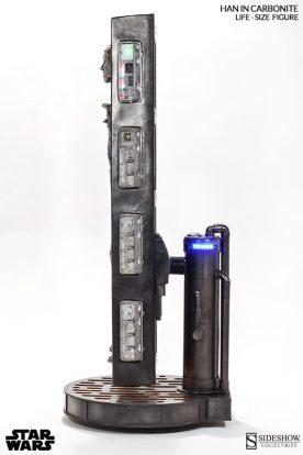Han Solo Carbonita tamaño real 03