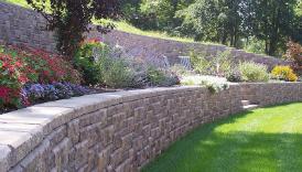 ab ashlar retaining wall