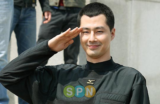 jo in sung goes to the army