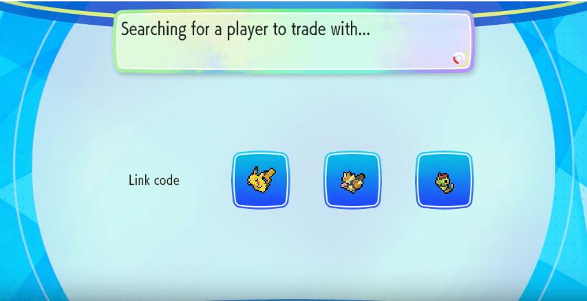 pkmn trade code