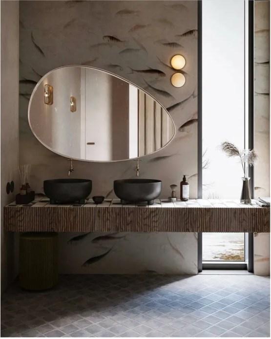 Stylish Bathroom Mirror Ideas