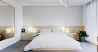 natural minimalist bedroom Feel Cozy and Safe