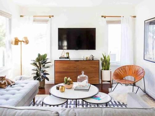 HP Midcentury Inspired living room 58bdef1c3df78c353cddaa07 The Living Room