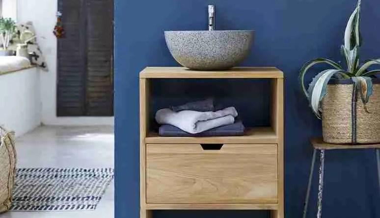 zoom kwarto teak washstand 60 2195 Narrow Bathroom Vanities