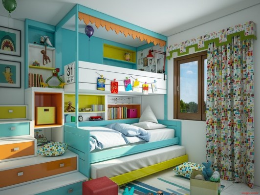 Aesthetically Pleasing Kid's Bedroom