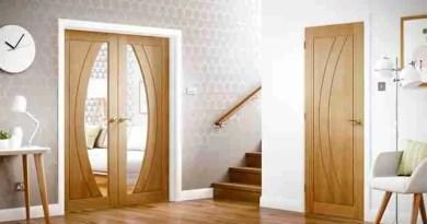 oak internal doors new flooring