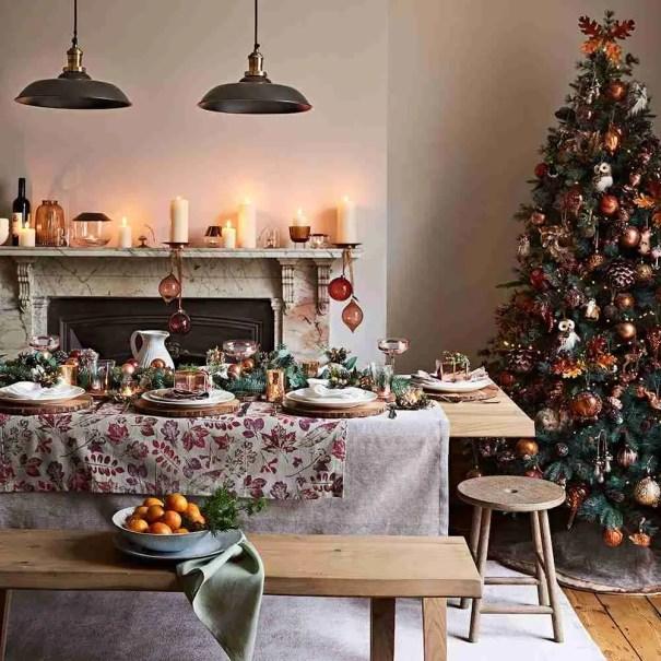 Christmas table decorations John Lewis 5 Christmas Decorating Ideas