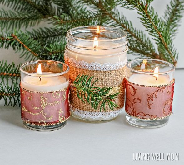 Wonderful DIY Christmas Candles with Essential Oils Christmas Decorating Ideas