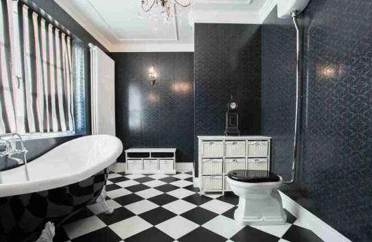 floor tiles stones tiling make a small bathroom look bigger