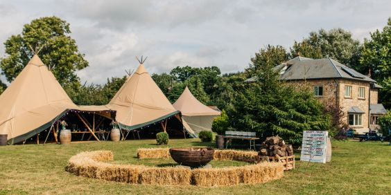 Renting a Giant Tipi
