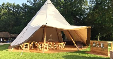 canvas and light giant tipi hire garden party 3s Backyard Transformation Ideas