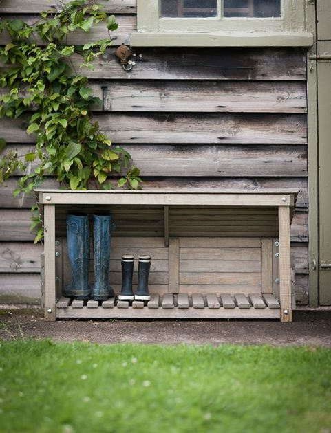 Outdoor Shoe Storage