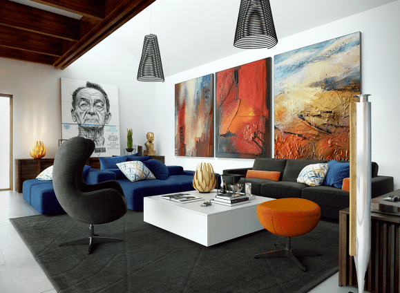 Incredible Ways to Decorate Bare Walls In Your Living Room