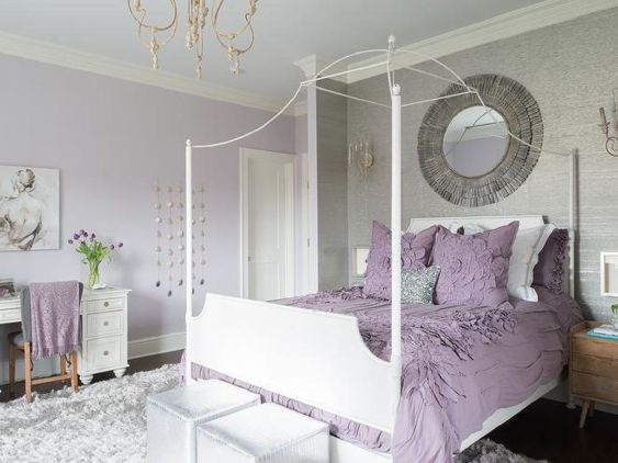 Color Ideas for Women's Bedroom