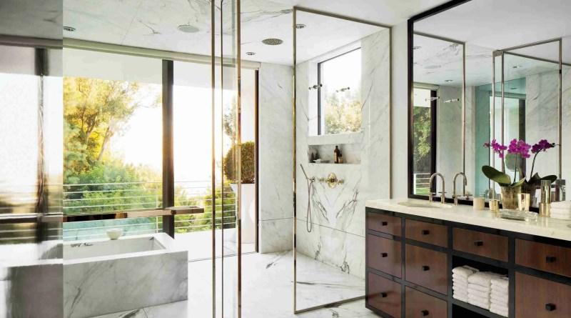 marble bathroom inspiration 02 scaled Glass Can Enhance Your Bathroom
