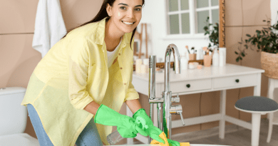 4 Tips on How to Clean a Bathroom
