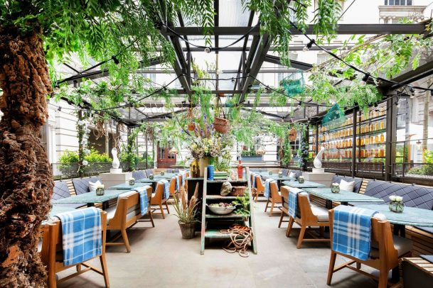 Outdoor Dining Spots in London