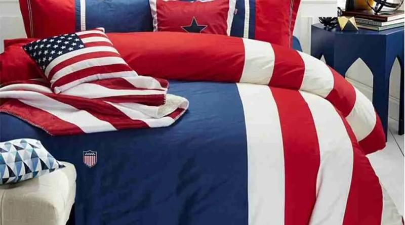 mk American Flag Comforter Set