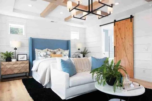 Modern Coastal Farmhouse Decor Master Bedroom Interior Design Styles
