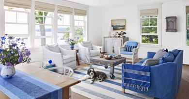 blue and white living room 1588120131 American Flag Comforter Set