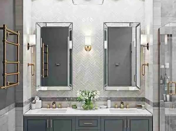 lmkmkl Ready-Made Bathroom Vanity