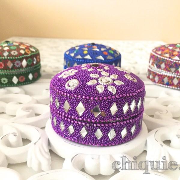 boites à secrets berbères violet