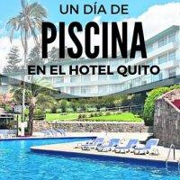 Hotel Quito un día de Piscina.