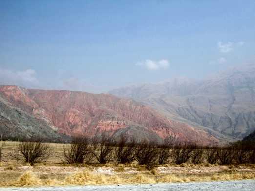Quebrada de Humahuaca, montana de siete colores