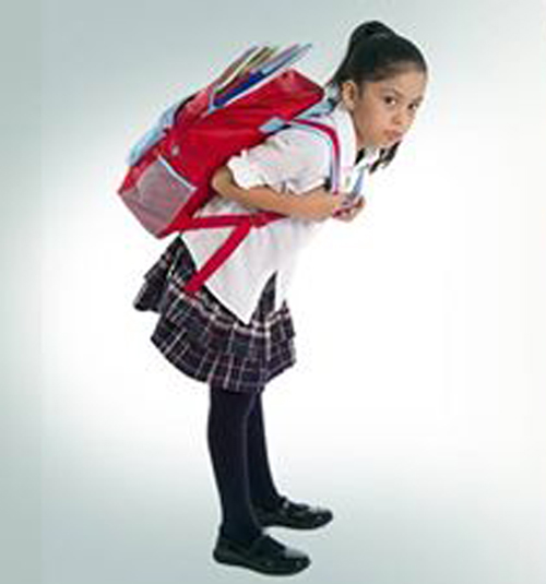 Schoolbags and Back Pain in Children Between 8 and 13 Years